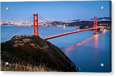 Acrylic Print featuring the photograph Golden Gate Bridge by Mihai Andritoiu