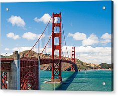 Golden Gate Bridge Acrylic Print by Sarit Sotangkur