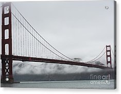 Golden Gate By The Bay Acrylic Print