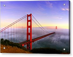 Golden Gate Acrylic Print
