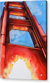 Golden Gate Light Acrylic Print