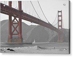Golden Gate Acrylic Print
