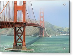 Acrylic Print featuring the photograph Golden Gate by Steven Bateson