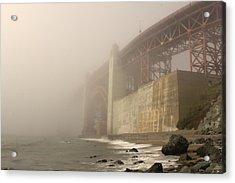 Golden Gate Superfog Acrylic Print