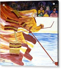 Golden Gophers Acrylic Print by Ken Yackel