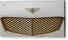 Golden Grill Bentley Acrylic Print