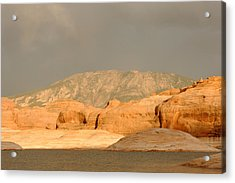 Golden Hour At Lake Powell Acrylic Print by Julie Niemela