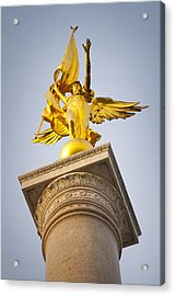 Golden Lady Acrylic Print by Rob Thompson