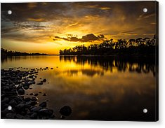 Golden Lake Natoma Acrylic Print