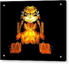 Golden Monkey Acrylic Print