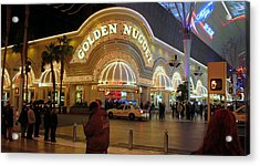 Golden Nugget Acrylic Print