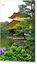 Golden Pavilion - Kyoto Acrylic Print by Juergen Weiss