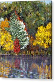 Acrylic Print featuring the painting Autumn Tapestry by Margaret Bobb