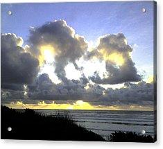 Golden Ray Acrylic Print
