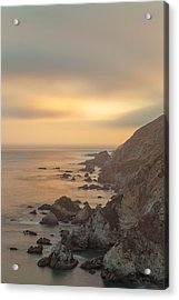 Golden Seashore Acrylic Print