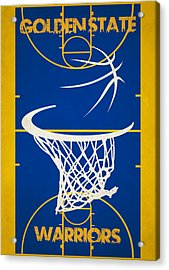 Golden State Warriors Court Acrylic Print