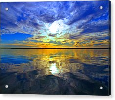 Golden Sunset Acrylic Print by James Granberry