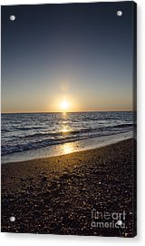 Acrylic Print featuring the photograph Golden Sunset2 by Bruno Santoro