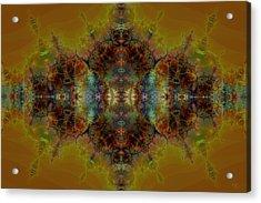 Golden Tapestry Acrylic Print