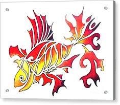 Goldfish 1 Acrylic Print