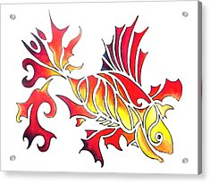 Goldfish 2 Acrylic Print