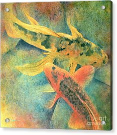 Goldfish Acrylic Print by Robert Hooper