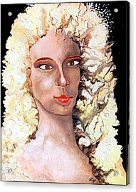 Goldilocks Acrylic Print by Daniel Janda