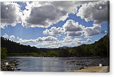Goldsborough Valley Acrylic Print