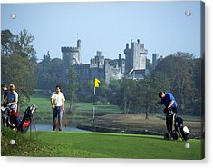 Golf At Dromoland Castle Acrylic Print by Carl Purcell