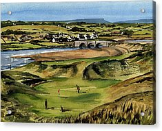 Clare  Golf At Lahinch Gc Acrylic Print
