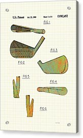 Golf Club Patent-1989 Acrylic Print