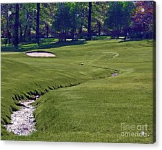 Golf Hazards Acrylic Print