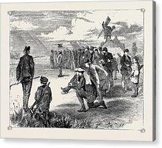 Golf Match Between The Royal Blackheath And London Scottish Acrylic Print