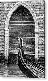 Gondola Detail Acrylic Print