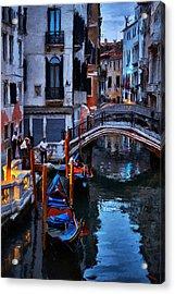 Gondola Drivers Acrylic Print