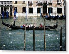 Gondola Jaunt Acrylic Print