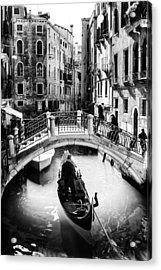 Gondolier Acrylic Print