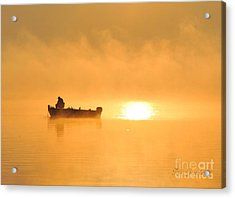 Acrylic Print featuring the photograph Gone Fishing by Terri Gostola
