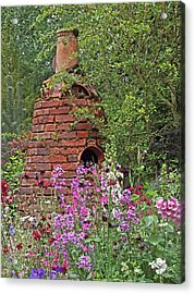 Gone To Pot - The Potter's Flower Garden Acrylic Print