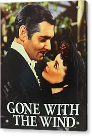 Gone With The Wind Acrylic Print by Natalie Ortiz