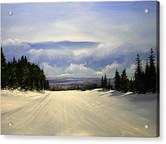 Gonna Snow Again Acrylic Print