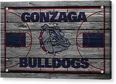 Gonzaga Bulldogs Acrylic Print