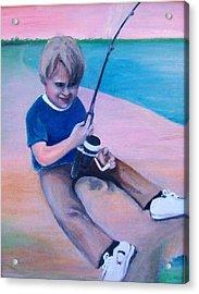 Good Day Fishing Acrylic Print