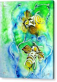 Good Day To Be A Bee Acrylic Print by Pat Purdy