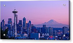 Good Evening Seattle Acrylic Print