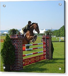 good form at Upperville Acrylic Print