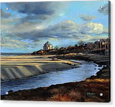 Good Harbor Beach Gloucester Acrylic Print