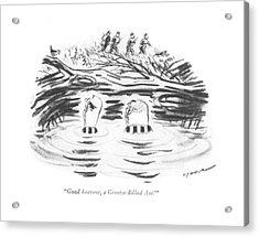 Good Heavens Acrylic Print by Leonard Dove