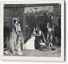 Good Luck, In The International Exhibition 1871 Acrylic Print by Baugniet, Charles (1814-86), Belgian