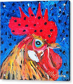 Good Luck Rooster Acrylic Print